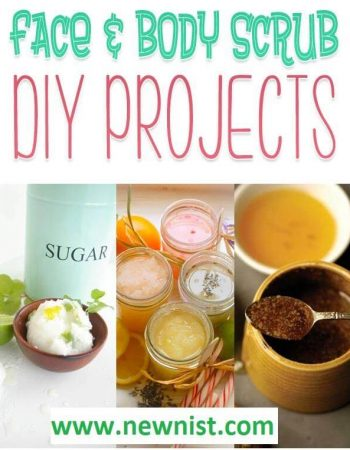 Easy DIY Face and Body Scrubs