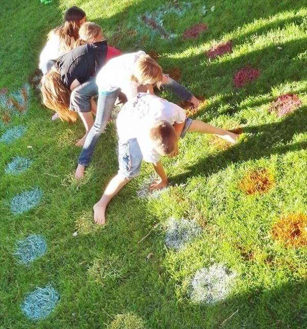 DIY Game paint Idea for garden