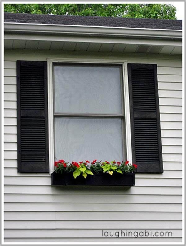 window flower planter