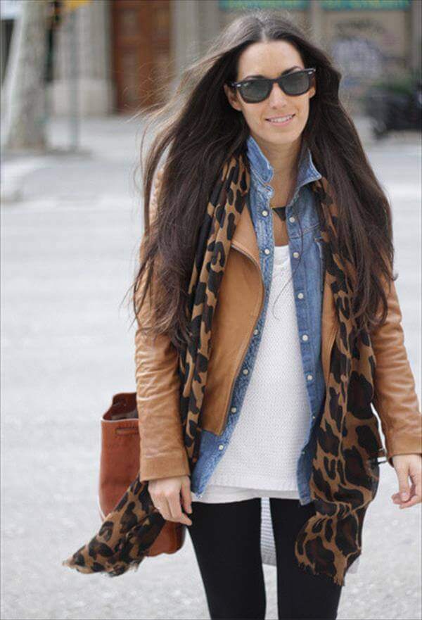 stylish leather brown jackets for women