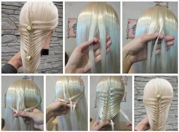 diy braided hairstyle idea
