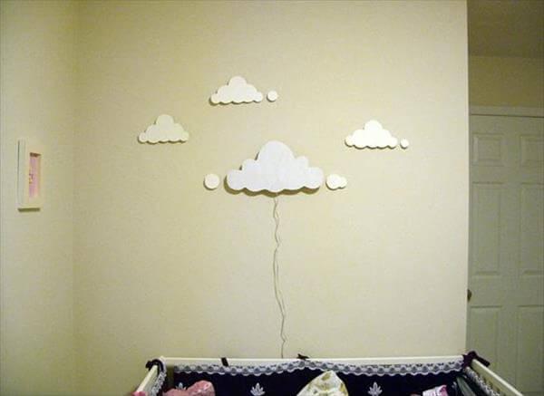 diy cloud light for night