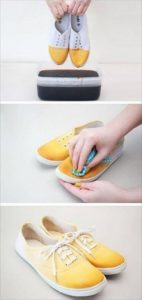 diy inventive ombre sneakers