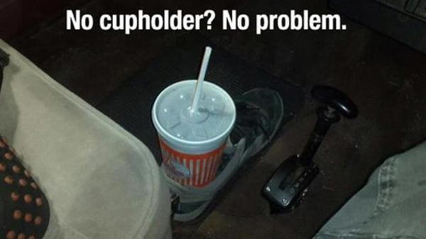 diy creative shoes cup holder