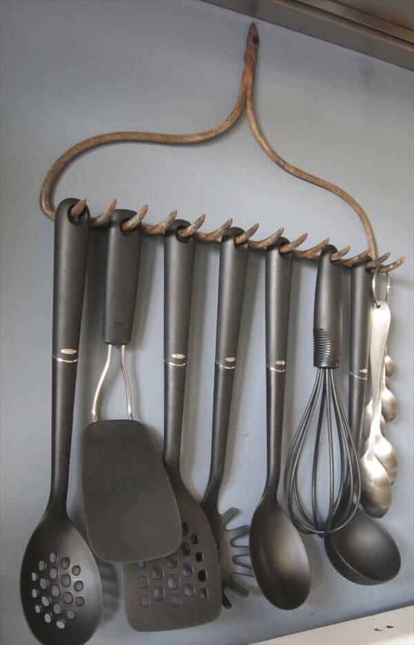 diy kitchen accessories holder idea
