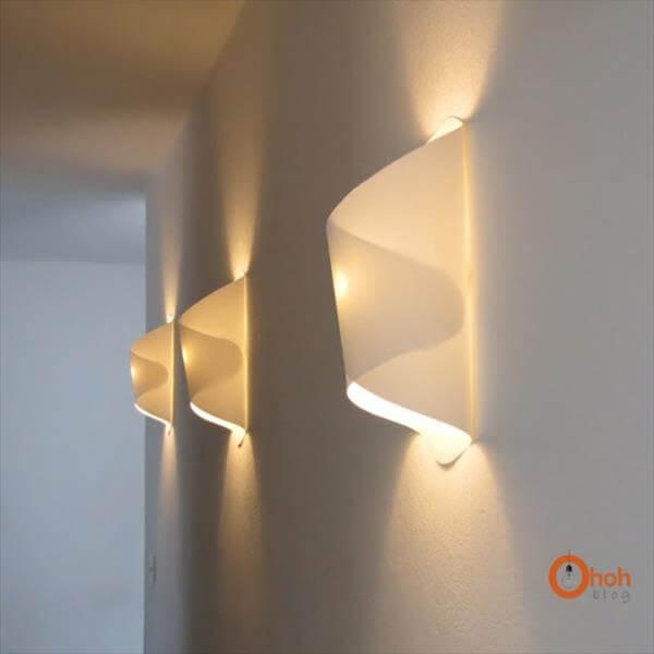 diy funky paper lamps