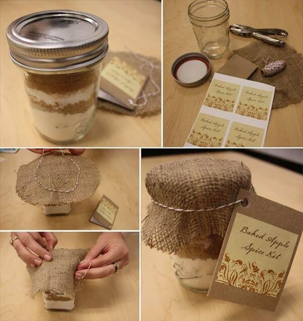 home prepared party favor jar