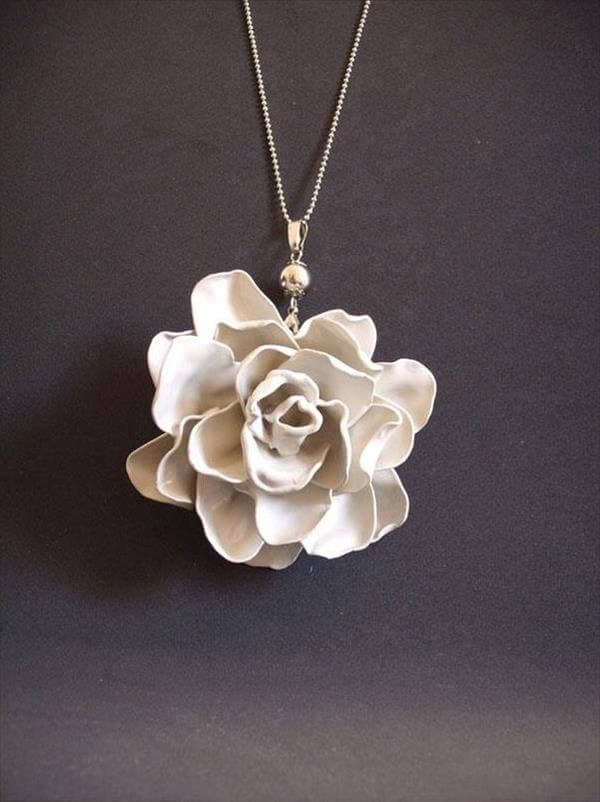 diy handmade spoon rose flower