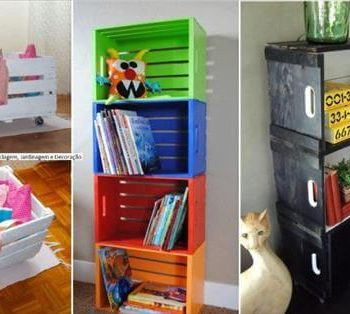 diy creative crate ideas