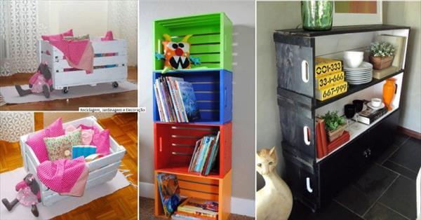 diy creative crate ideas