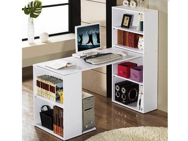 diy handcrafted computer desk