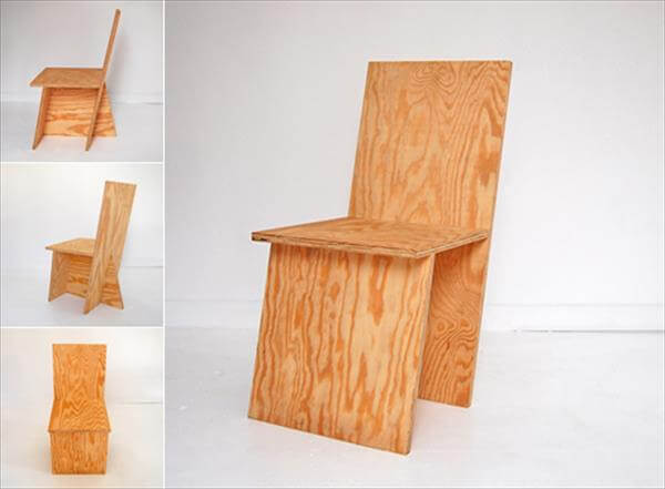 productive diy wooden chair
