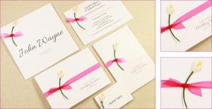 Make Your Own Wedding Invitations for Free – 10 DIY Ideas