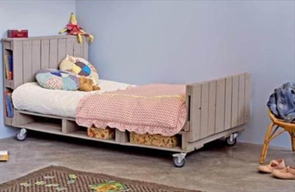 diy pallet bed or kids