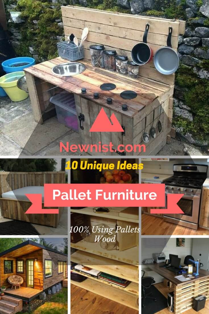 10 Diy Furniture Made From Pallets Wood Diy Listy
