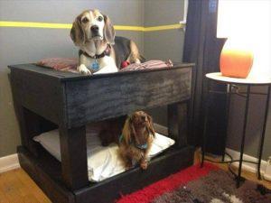 10 DIY Pallet Dog Bed Designs