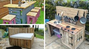 10 DIY Furniture Made From Pallets Wood