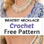 Beaded Necklace Free Crochet Pattern