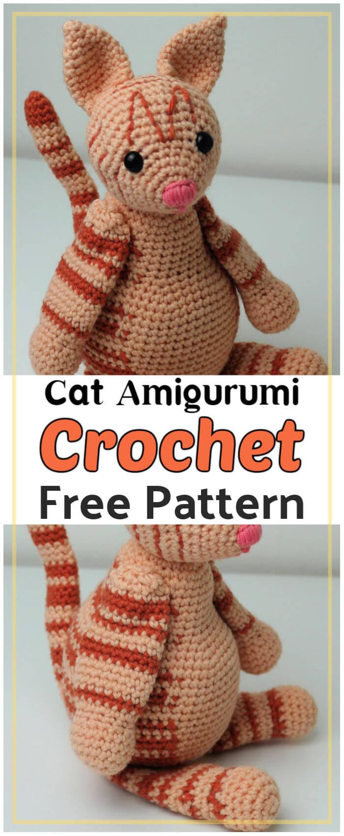 Cat Amigurumi Free Crochet Pattern