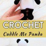 Crochet Cuddle Me Panda Free Pattern