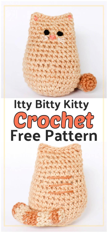 Crochet Itty Bitty Kitty Free Pattern