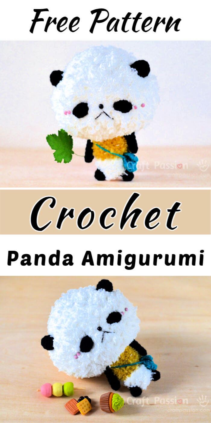 Crochet Little Panda Amigurumi Free Pattern