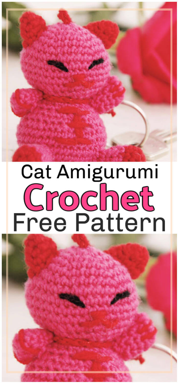 Free Crochet Cat Amigurumi Pattern