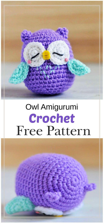 Owl Amigurumi -Free Amigurumi Pattern | Craft Passion | 1500x700
