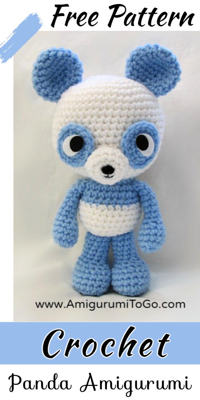 Free Crochet Panda Amigurumi Pattern