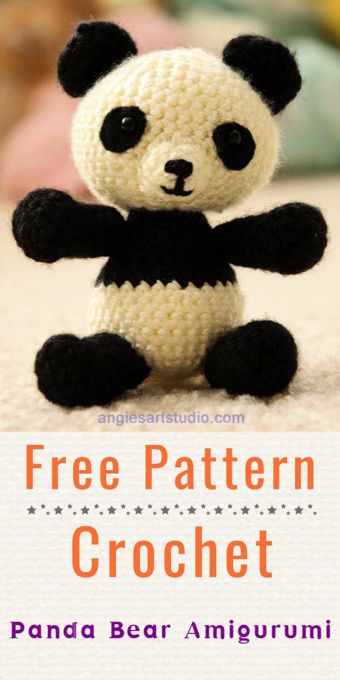 Free Crochet Panda Bear Amigurumi Pattern