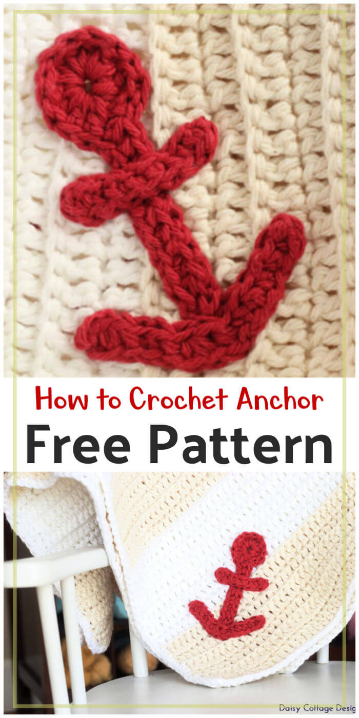 How to Crochet Anchor Free Pattern