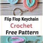 How to Crochet Flip Flop Keychain