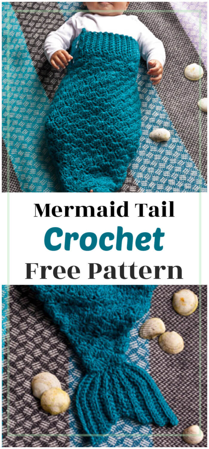 How to Crochet Mermaid Tail