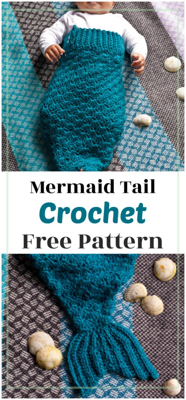 Mermaid Tail Ideas Free Crochet Patterns   1500x700