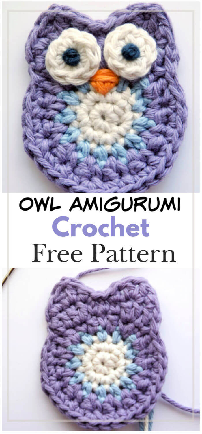 How to Crochet Owl Amigurumi