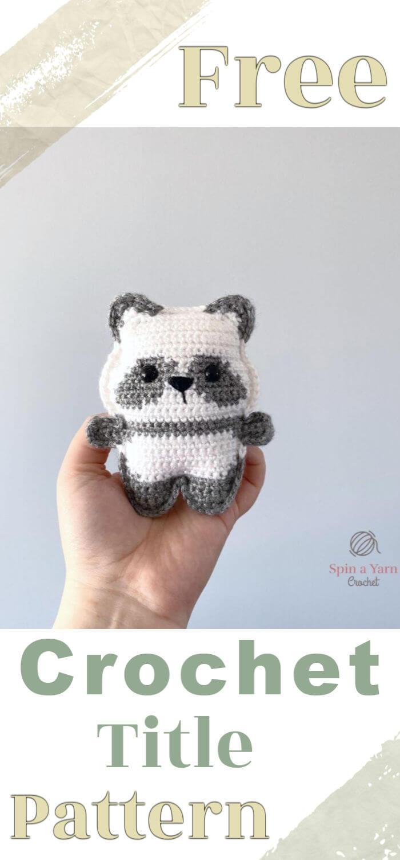 How to Crochet Pocket Panda