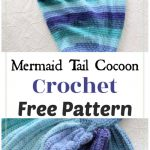Mermaid Tail Cocoon Free Crochet Pattern
