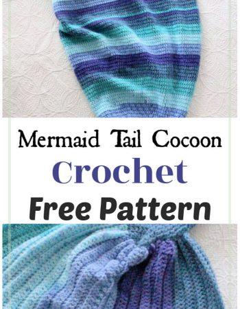 Mermaid Tail Cocoon Free Crochet Pattern
